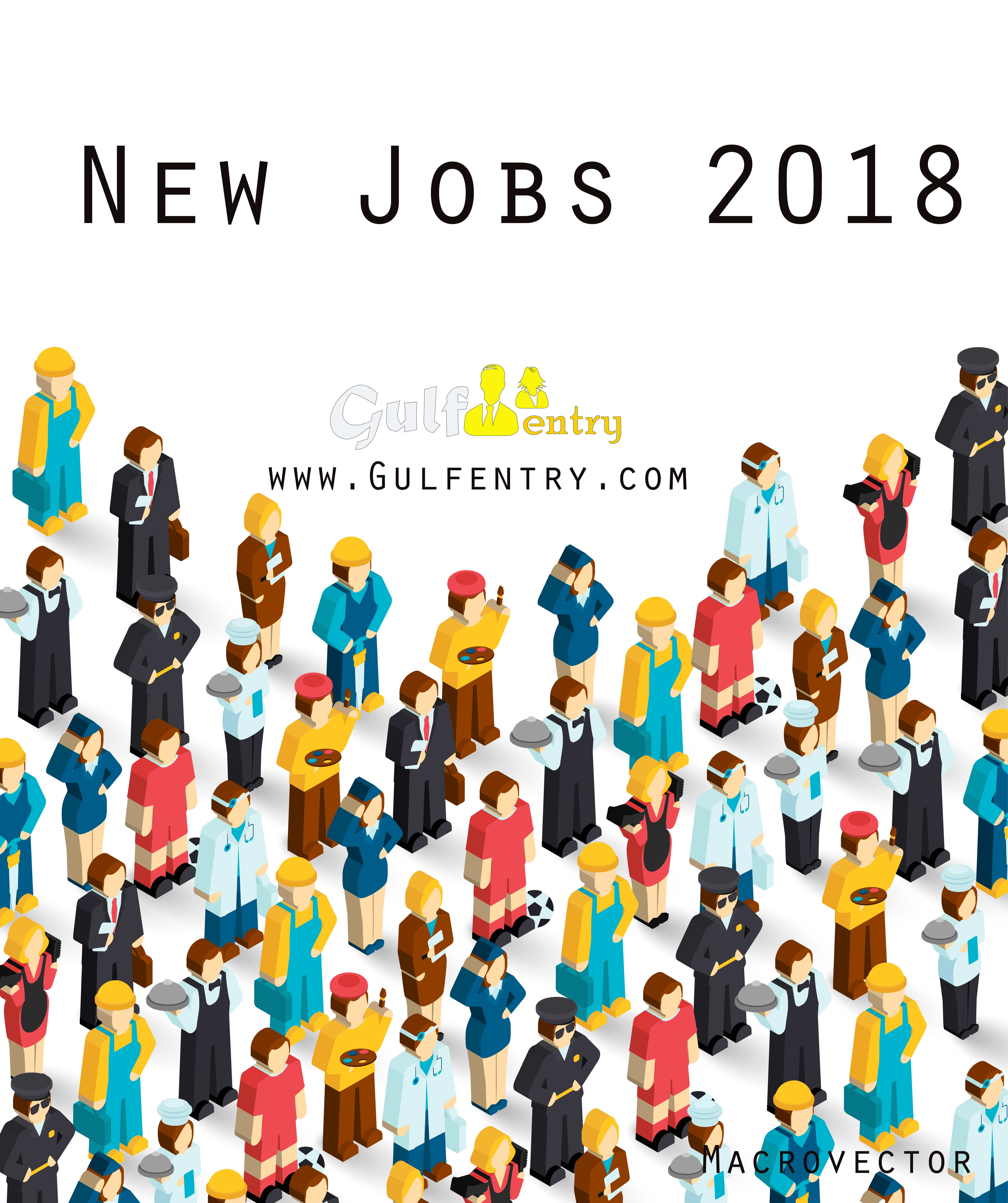 New jobs Opening UAE,2018 - Gulf Job Entry in the Middle